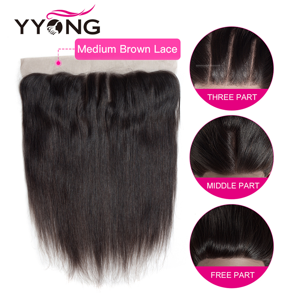 Yyong Straight Hair Bundles With Frontal  Bundles With Closure  Hair  Bundles With Closure 6