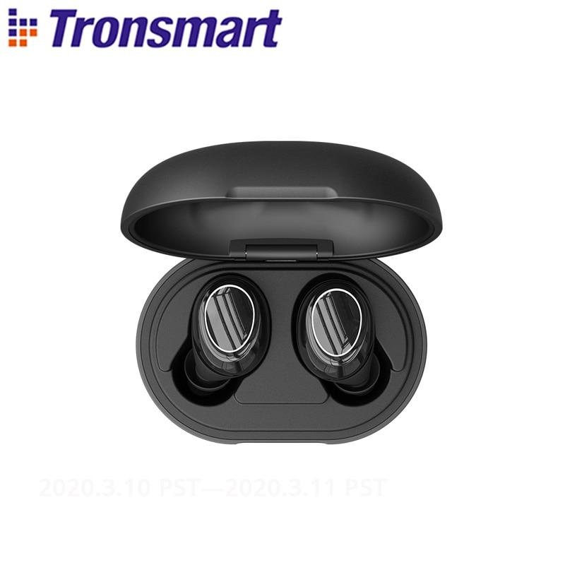 [Newest Version] Tronsmart Onyx Neo TWS Bluetooth Earphone Wireless Earbuds With Qualcomm Chip, AptX, Volume Control