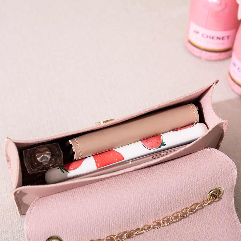 Mewah Handbags Tas Wanita Desain Wanita Wanita Tas Kulit Tas Bahu Rantai Tote Messenger Tas Selempang untuk Wanita