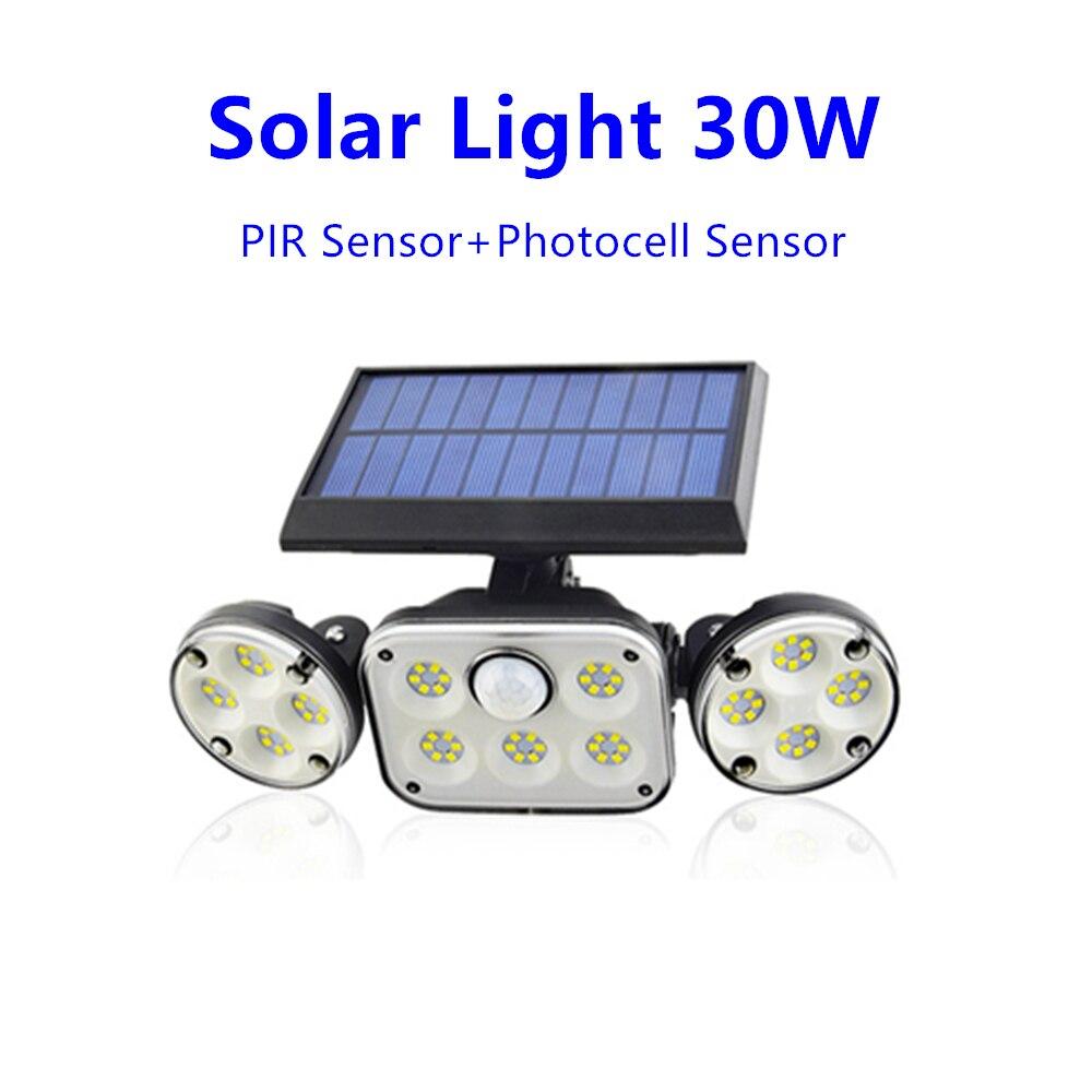 Купить светодиодный светильник на солнечной батарее открытый 3 режима