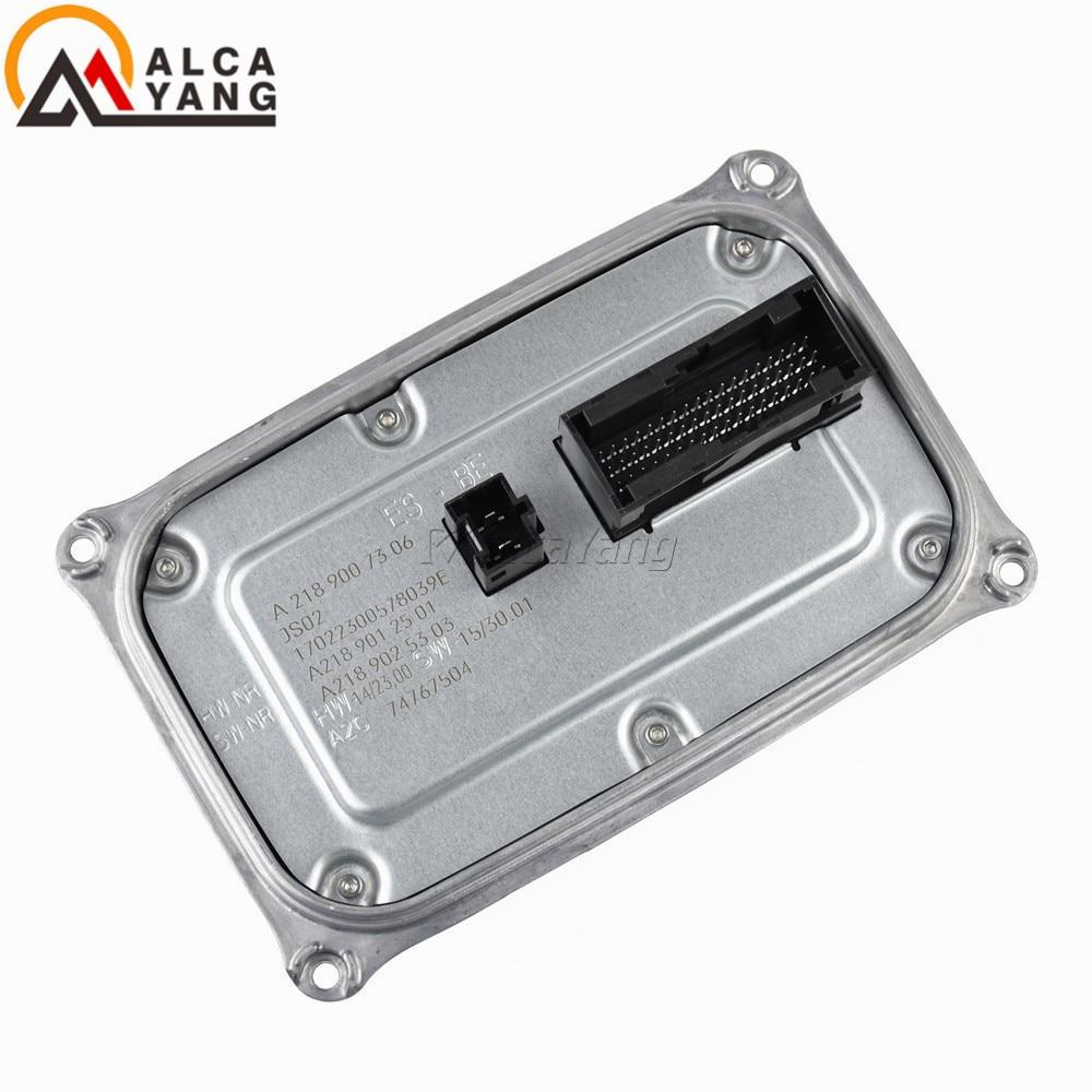 A2189007306 A2189012501 A2189025303 17022300578039E Led Headlight Ballast Module Control For Ben(z) GLS Class W218 2014-2018