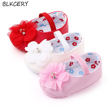 Shoes Toddler Newborn Baby-Girl Infant Flower Pink 1-Year-Old Footwear Shower-Gifts Soft-Bottom