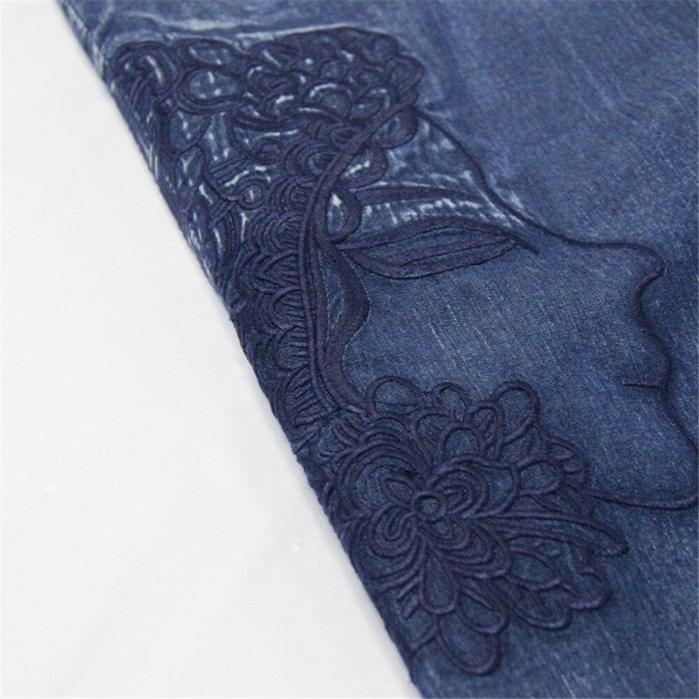 Vintage Women Denim Jumpsuit 2020 Summer Bodysuit Embroidery Color Blocks Spaghetti Strap Jumpsuits Overalls Femme (4)