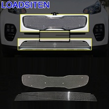 Styling Mouldings Decorative Parts Auto Protector Modification Car Accessories Racing Grills 16 17 FOR Kia KX5