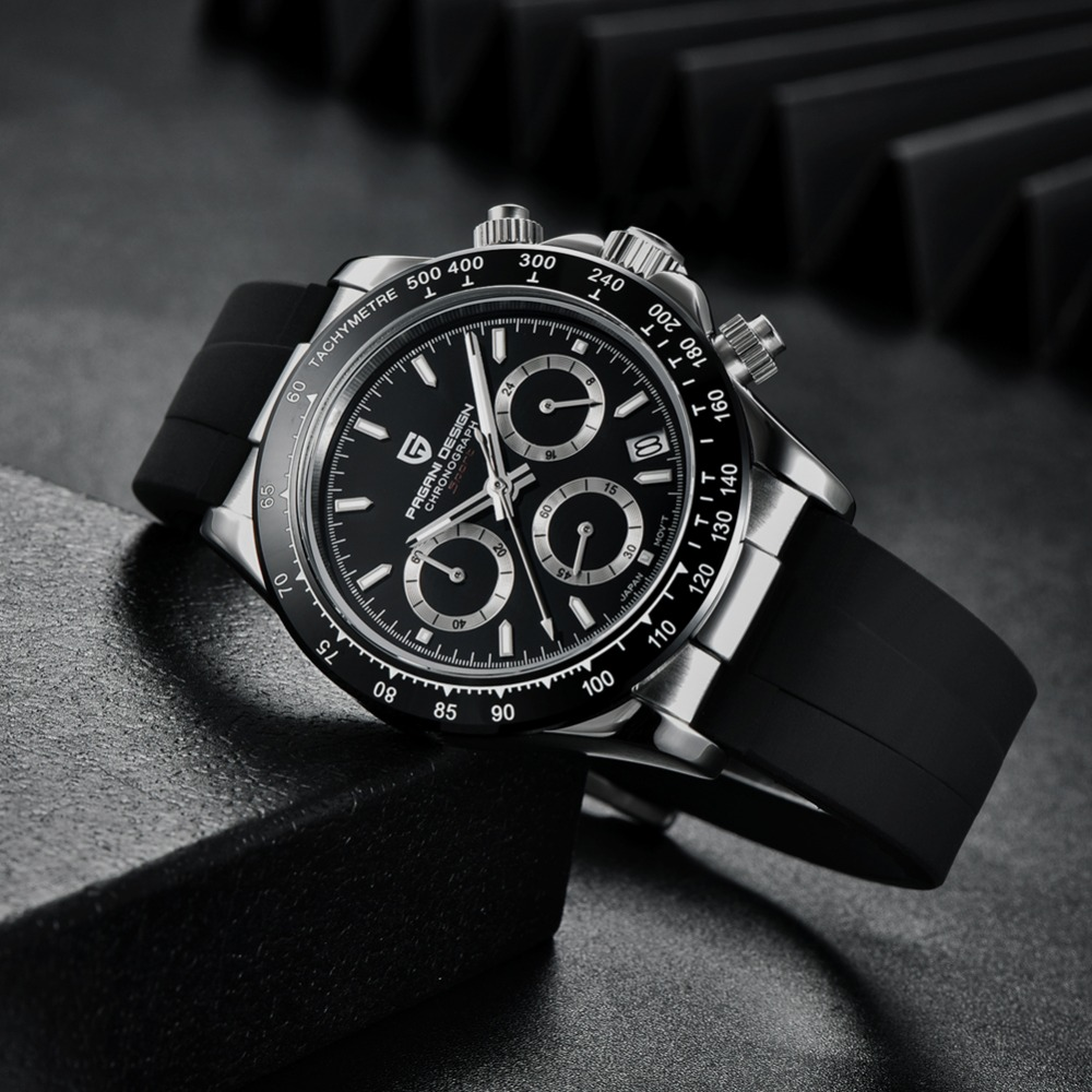 2020 New PAGANI DESIGN Mens Quartz Watches Automatic Date Luxury Gold Wristwatch Men Waterproof Chronograph Japan seiko VK63 Clock man dropshipping (53)