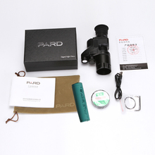 PARD NV007 night vision scope add on attachment monocular hunting camera 250g easy to carry with App night activities supported
