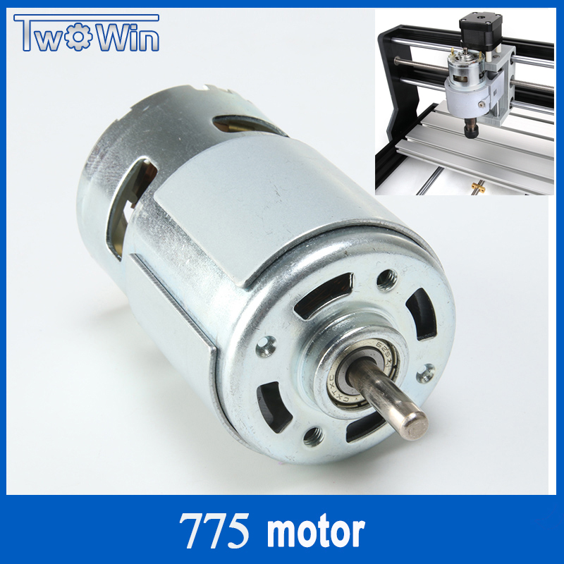 3018 PRO 775 High Speed Spindle 775 Motor Large Torque DC Motor Electric Tool Electric Machinery 12-36V 775 Electric Machinery