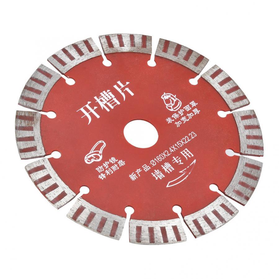 Circular  5pcs 160mm Diamond Circular  Cutting Disc For Concrete Ceramic Granite