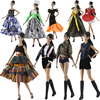 Fashion Dress Shirt Coat Skirt Shorts Clothes Set for Barbie Doll Outfits 1/6 BJD Dolls Accessories Kids & baby DIY Toys Cosplay