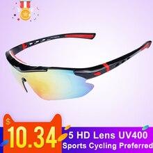 Polarized Sports Men Sunglasses Road Cycling Glasses ultrali