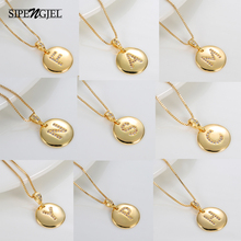 New Fashion Cubic Zircon 26 Letter Initial Necklace Diy Pendants Charm  Personal Name Necklace For Women Boho Jewelry 2020