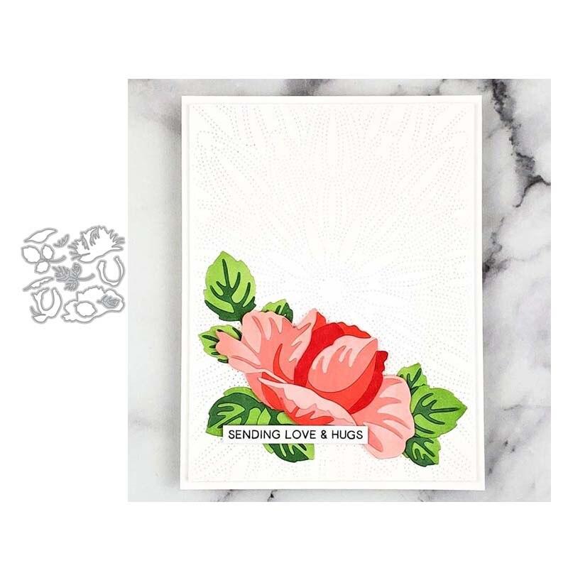 JC Metal Cutting Dies for Scrapbooking Wonderful Flower Die Cut Card Make Stencil Craft Folder Paper Album Mold Mould Decoration