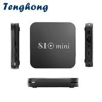 Tenghong S10mini nuovo Android 9.0 Smart TV BOX Amlogic S905W Quad Core supporto 2.4G Wireless WIFI Media Box Set-Top Box 2GB/16GB