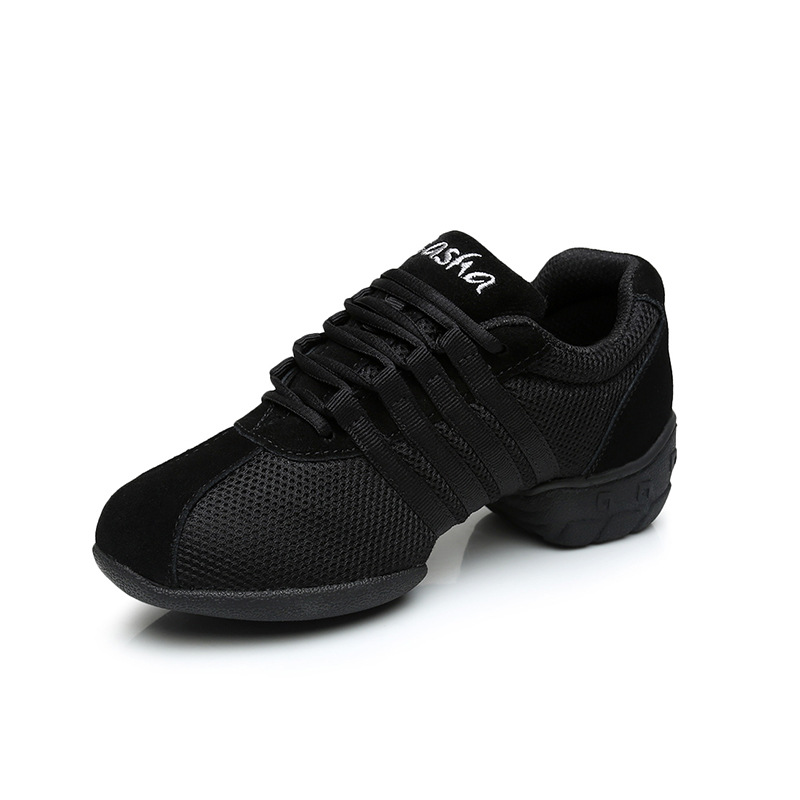 Canvas Breathable Square Dance Shoes Women Modern Sport Hip Hop Jazz Dance Sneakers Shoes Salsa