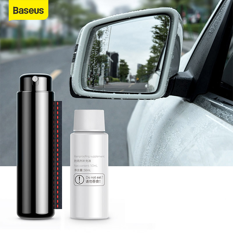 Baseus Car Rainproof Spraye Rearview Mirror Anti-fog Agent Glass Car Cleaner Anit-fog Spray Cleaning Windscreen Glass Accessries
