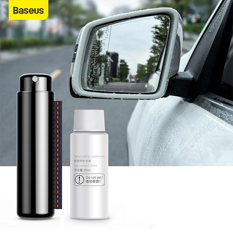 Baseus Car Rainproof Spraye Rearview Mirror Anti-fog Agent Glass Car Cleaner Anit-fog Spray Cleaning Windscreen Glass Accessries
