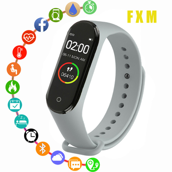 Fashion Smart Watch Heart Rate Blood Pressure Monitoring Boys and Girls Health Bracelet Waterproof Women