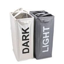 Shushi Большая водонепроницаемая тканевая складная корзина для белья большая корзина для хранения белья грязная одежда корзина для белья Органайзер