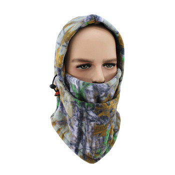 Fleece kypärähuppu metsästykseen – Vaalea Camo