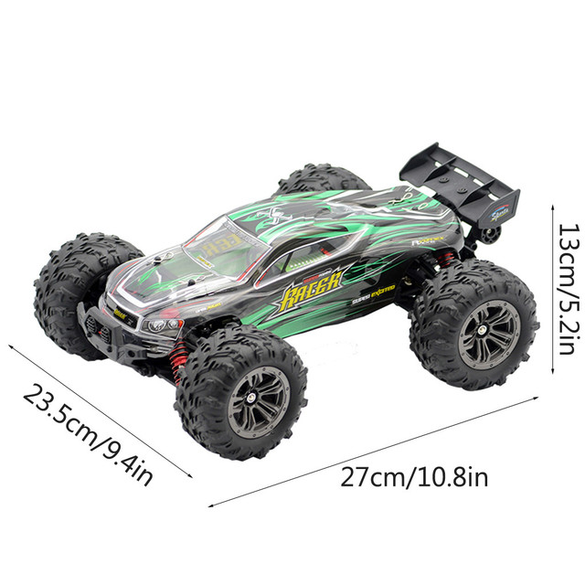 1:16 52Km/h 4WD RC Remote Control Off Road Racing Cars Vehicle 2.4Ghz Brushless Electric RC Car with Extra Car Cover#S3 5