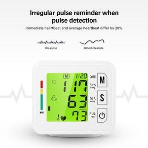 Image 3 - OLIECO Handgelenk Blutdruck Monitor USB Aufladbare Digitalen Blutdruckmessgerät Englisch Stimme 3 Hintergrundbeleuchtung Erinnern 2 Benutzer Speicher