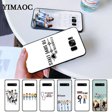 Grey Anatomy Soft High Quality Silicone Case for Samsung S6 Edge S7 S8 Plus S9 S10 S10e Note 8 9 10 M10 M20 M30