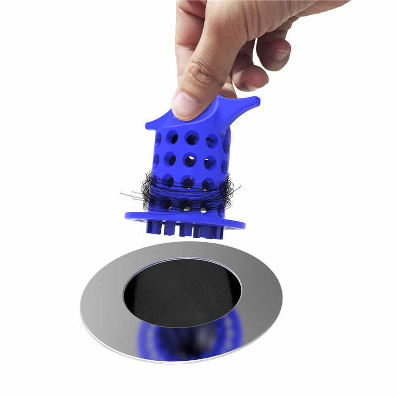 Wanna spustowy sitko wanna z hydromasażem wyłapywacz włosów zlew Snare Protector dla kuchnia łazienka prysznic pokój