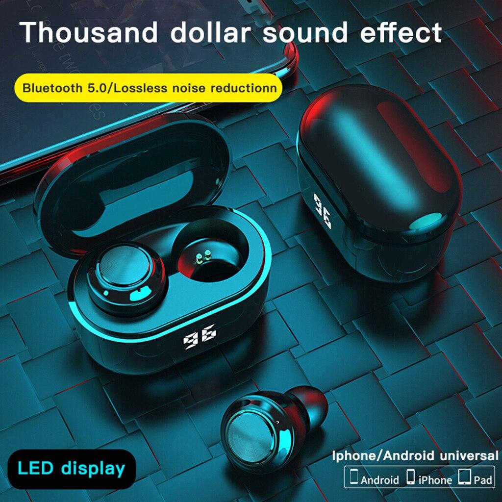 2021 A6 наушники-вкладыши, беспроводные наушники, стереонаушники, Спортивная гарнитура с микрофоном, Высококачественная Музыкальная гарнитур...