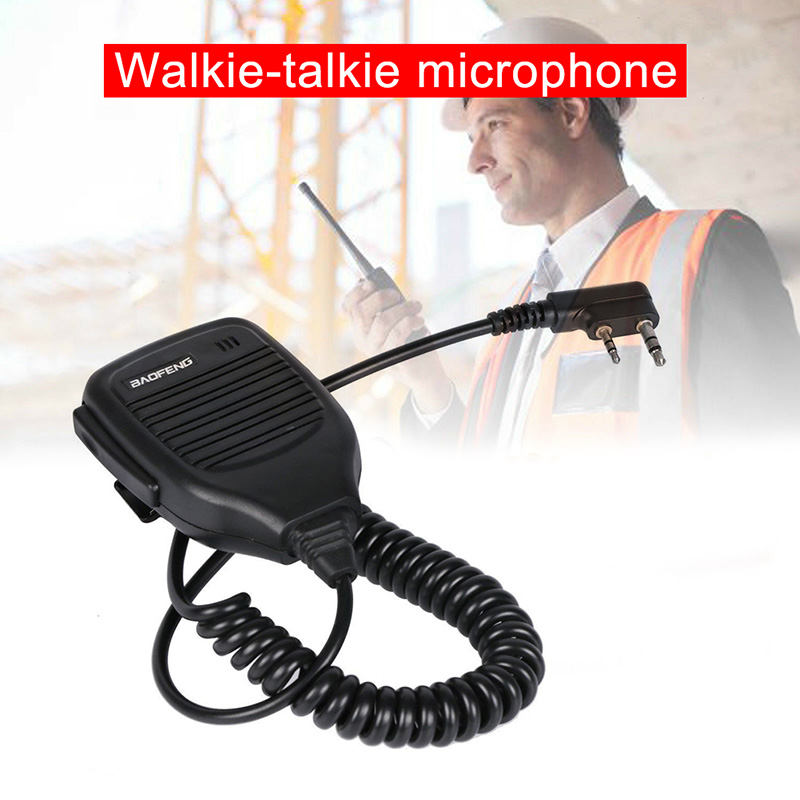 Baofeng Radio Speaker Mic Microphone Two Way Radio Walkie Talkie UV-5R BF888S UND Sale