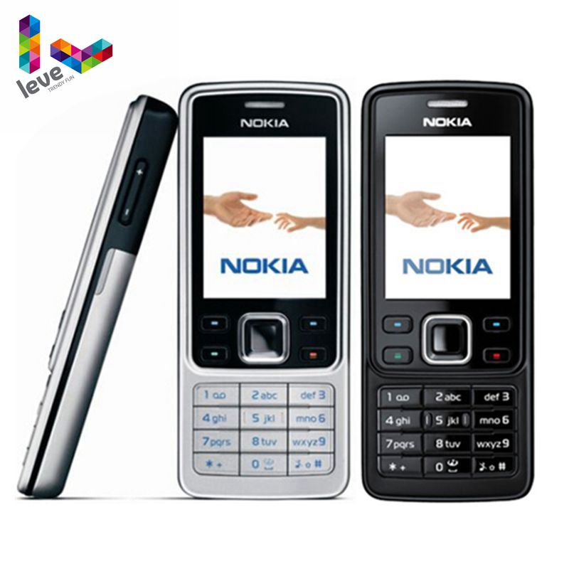 Original Nokia 6300 Unlocked GSM Mobile Phone English&Arabic&Russian Keyboard Refurbished Cellphones