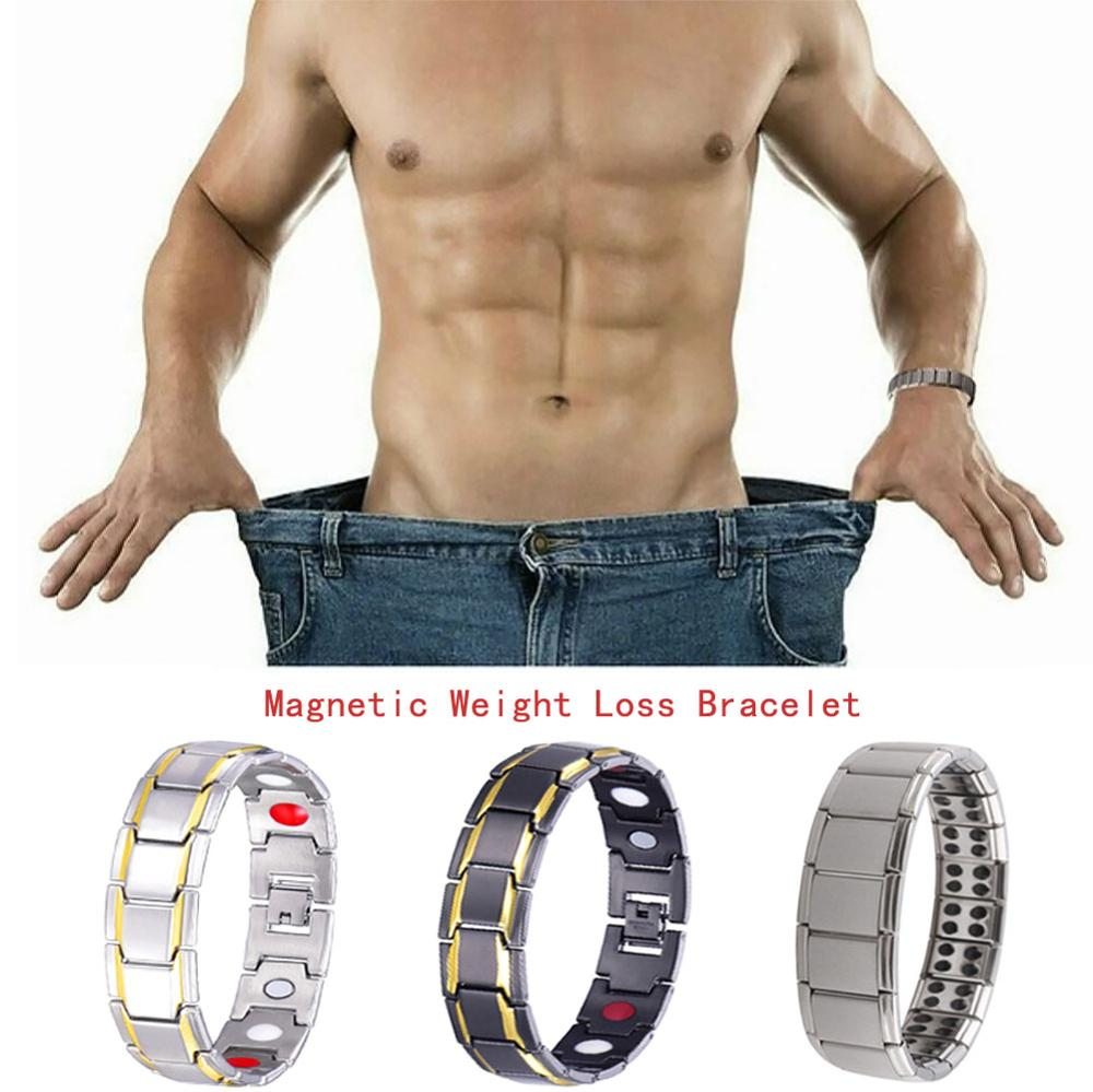 Magnetic Healthcare Weight Loss Bracelet Energy Black Germanium Bracelet Slimming Therapy Acupoints Adelgazar Anti Cellulite