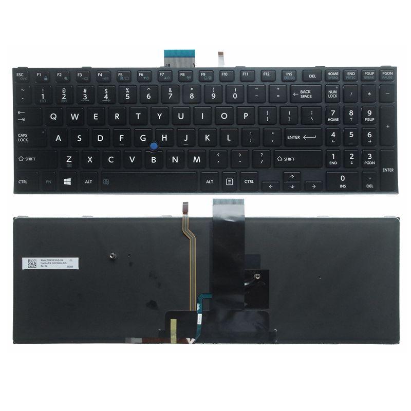 US Laptop Keyboard For Toshiba Satellite Pro R50-C Tecra A50-C Z50-C A50-C1510 A50-C1520 Z50-C1550 Laptop English US KB