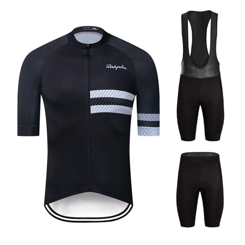 2020 Ralvpha Cycling Set Man Cycling Jersey Short Sleeve Bicycle Clothing Kit Mtb Bike Wear Triathlon Uniforme Maillot Ciclismo