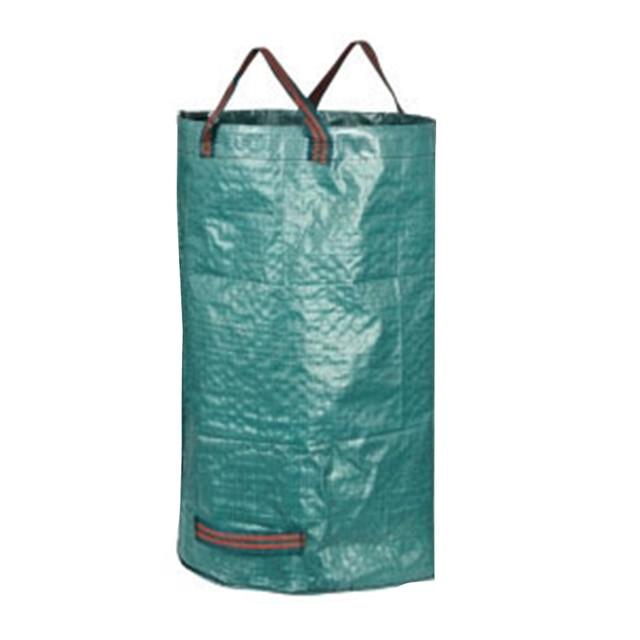 Portátil dobrável-up jardim folha de lixo pode saco de armazenamento de lixo flores e grama coleta bin jardim uso de acampamento