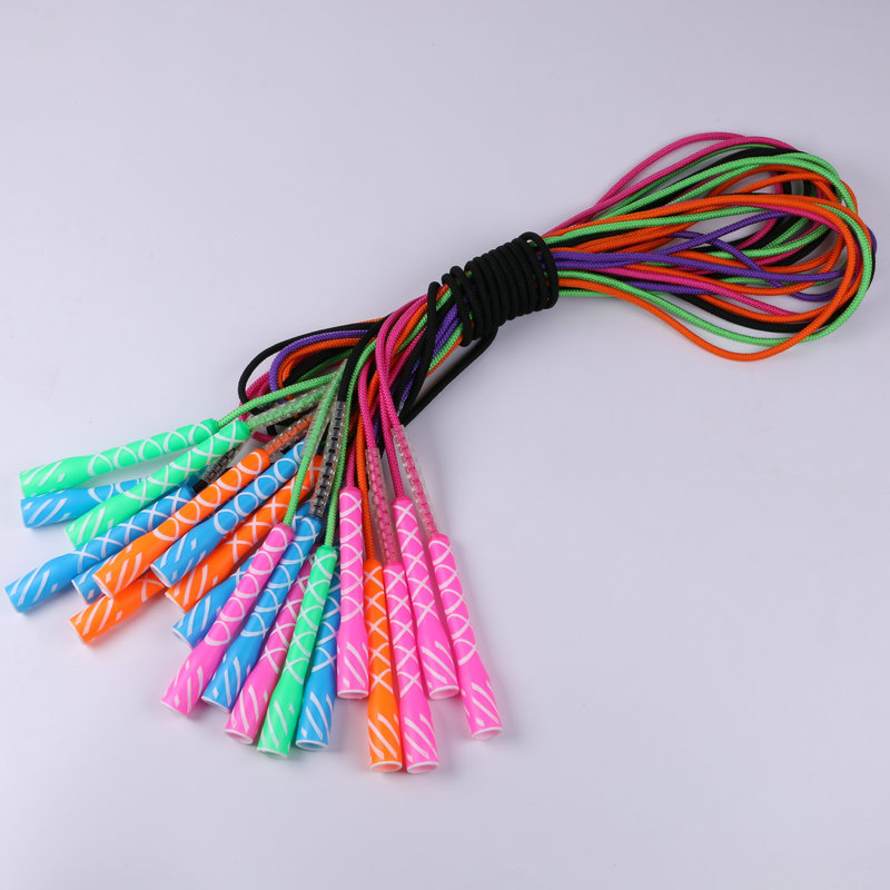 Rough Cotton Rope Primary School STUDENT'S Playtime Break Entertainment Game Standard Jump Rope Children Training Jump Rope