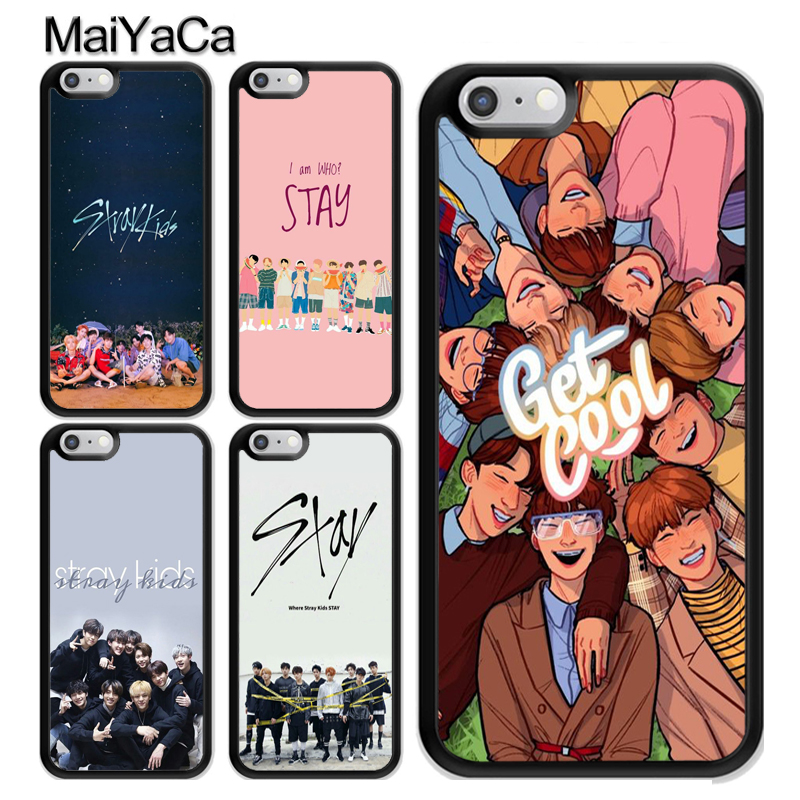 MaiYaCa Stray Kids Kpop Band Phone Case For iPhone X XR XS MAX 8 7 Plus 6 6s 5s SE Soft TPU Skin Back Shell Cover