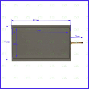 wholesale 3PCS/LOT XWT1070  233*142mm 10.1inch 4lines resistance screen  this is compatible XWT 1070