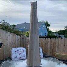 Сад патио зонтик крышка зонта Тип молнии водонепроницаемый Оксфорд тканевый зонтик Защитная крышка поставки