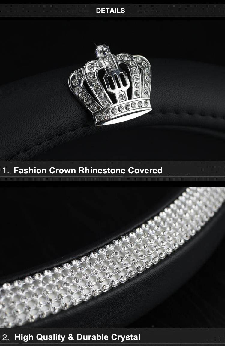crown steering wheel cover 8