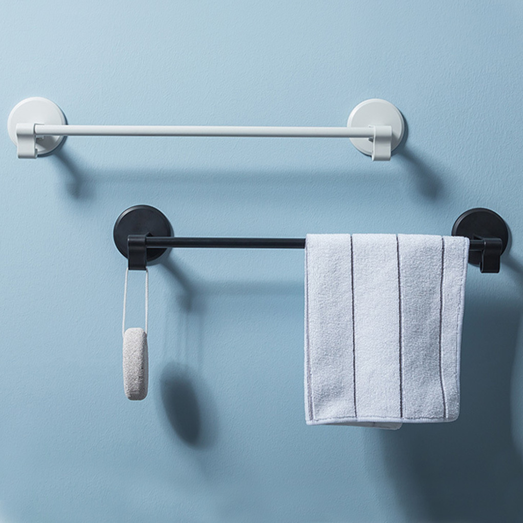Ванная комната Хранение Стеллаж Без перфорации Настенный Установленный Одинарный Столб Вешалка Полотенце Вешалка Вешалка Пластик Кухня Тряпка Держатель Крючок Крючок