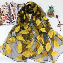 2021 venda quente lenço de seda das mulheres verão brisa leve sheer wrap e xales bandana praia organza gaze laço oco cachecol