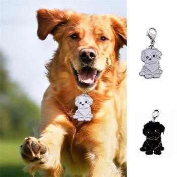 Medium And Large Dog Identity Card Dog Metal Medal Necklace Pet Anti-lost Bichon Frise Dog Tag image