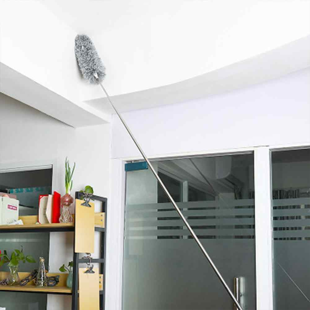 1pc Microfiber Duster Cleaner w// Telescopic Pole For Home Cleaning High Ceiling