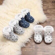 Shoes Booties Baby-Boy Toddler Newborn Girlssocks Winter Infant Soft Warm Cotton 0-18M