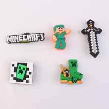 Manufacturer Shoe Charms Hot Games PVC charms for sandals and bracelets Gifts for kids