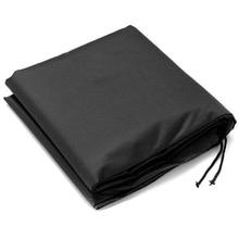Горячий HG-черный водонепроницаемый уличный стол для сада теннисный стол дождевик одеяло 210D ткань Оксфорд дождевик открытый садовый чехол S