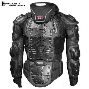 Snowboard Jacket Elbow-Protection RACING Men Armor Racing-Protective-Gear Back-Chest