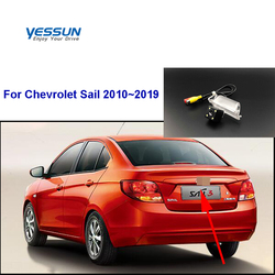 Yessun HD CCD Night Vision Car Rear View Reverse Backup Camera Waterproof For Chevrolet Sail 2010~2019