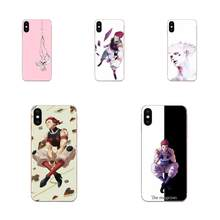 Hisoka Hunter Soft Silicone TPU Transparent Cute Skin For Apple iPhone 4 4S 5 5C 5S SE 6 6S 7 8 11 Plus Pro X XS Max XR(China)