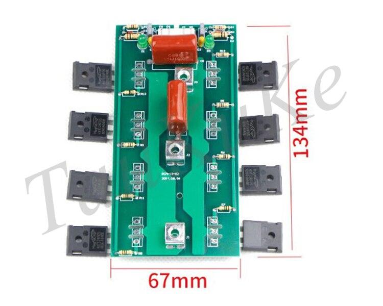 Инверторные комплектующие сварочных аппаратов IGBT однотрубный ZX7-400 однотрубный сварочный микросхема инвертор